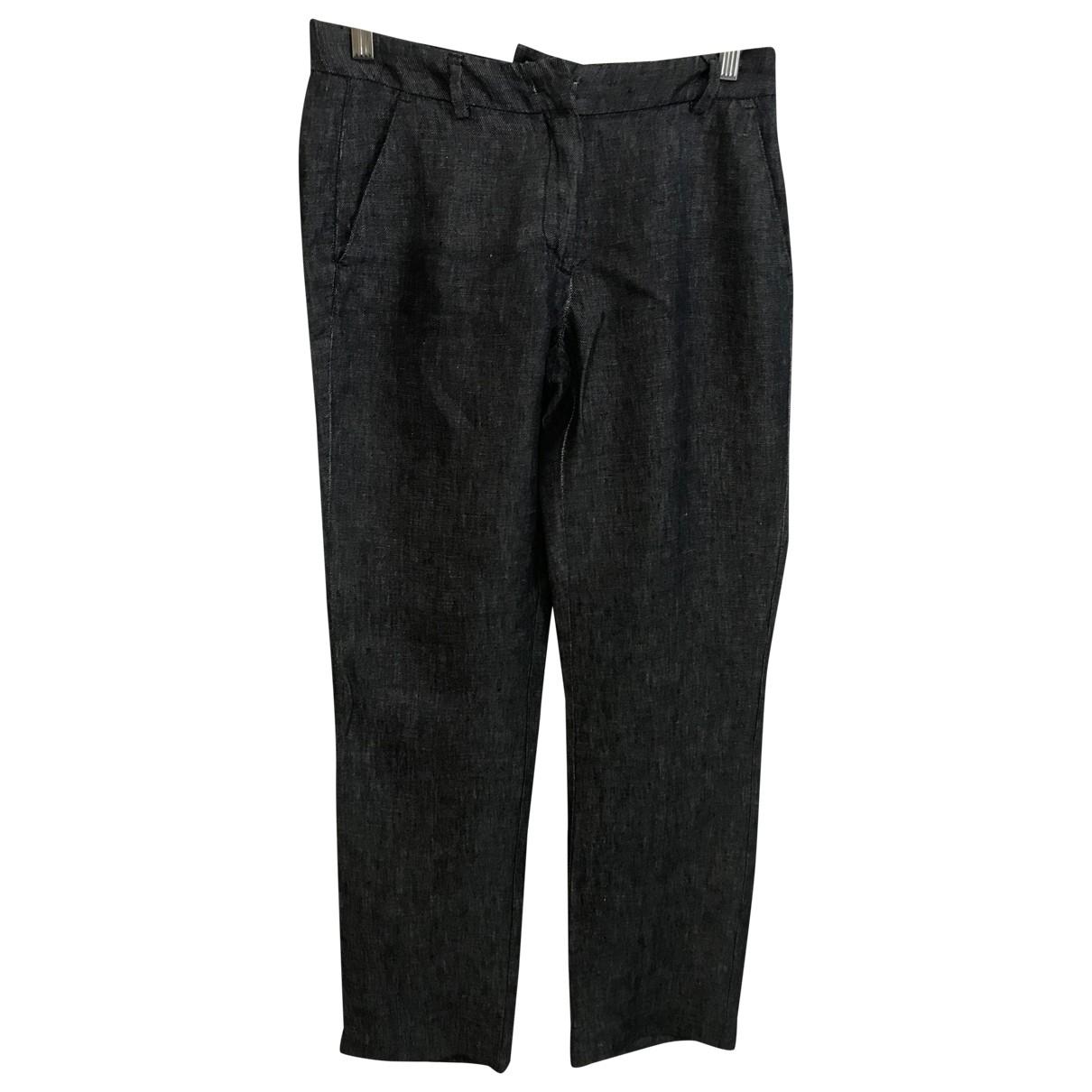 Pantalon en Denim - Vaquero Azul Trussardi