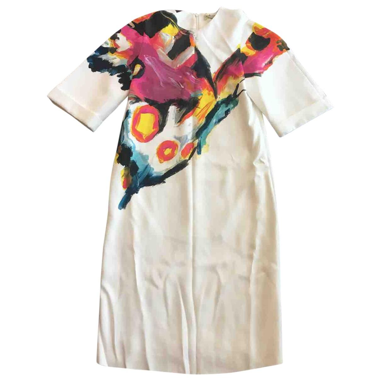 Etro \N Kleid in  Weiss Viskose