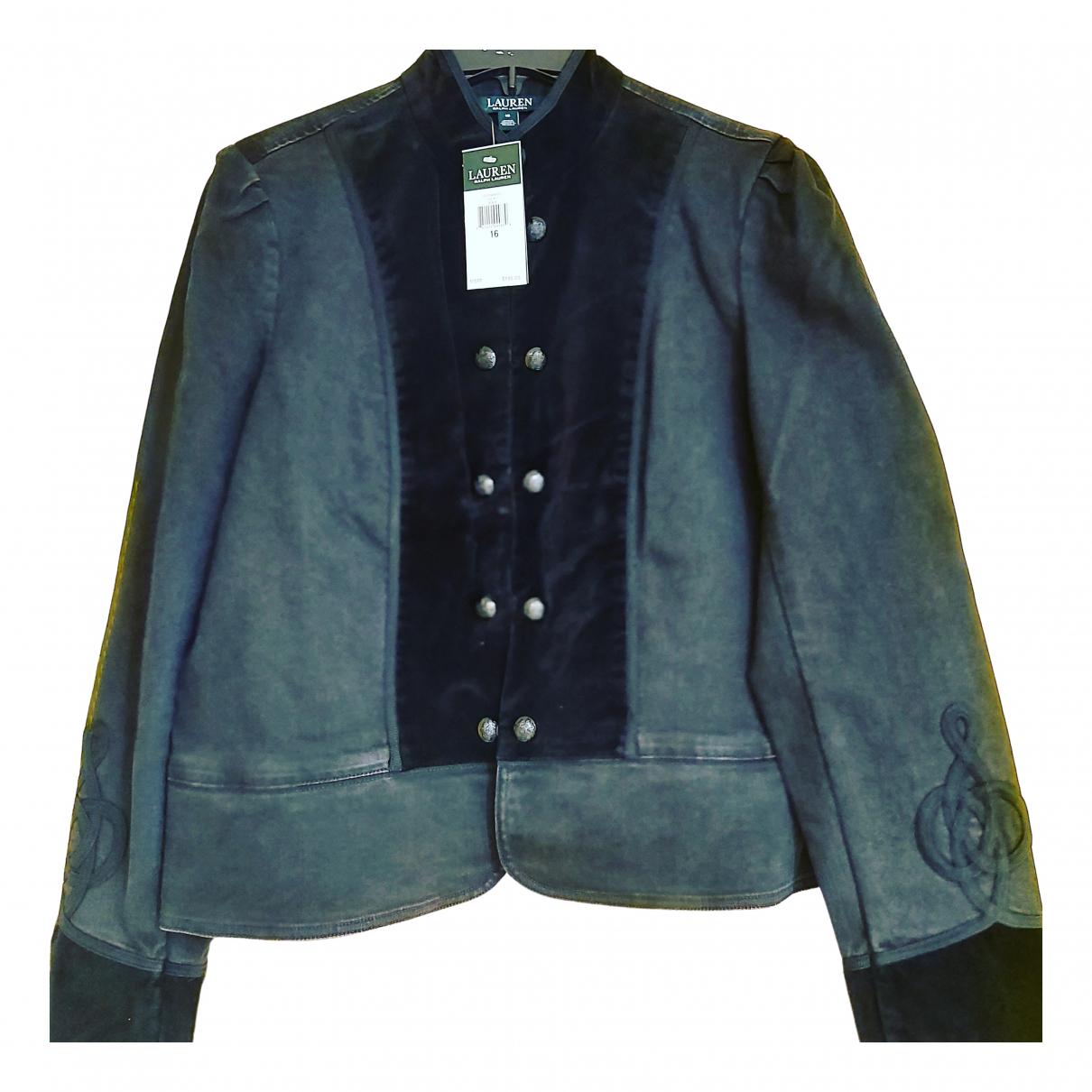 Lauren Ralph Lauren - Veste   pour femme en coton - noir