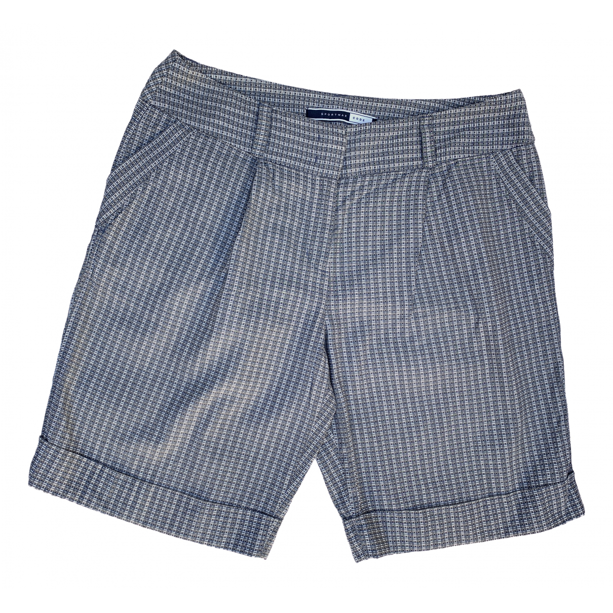 Sport Max \N Shorts in  Grau Baumwolle