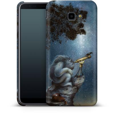 Samsung Galaxy J4 Plus Smartphone Huelle - Cosmic Wanderer von Dan May