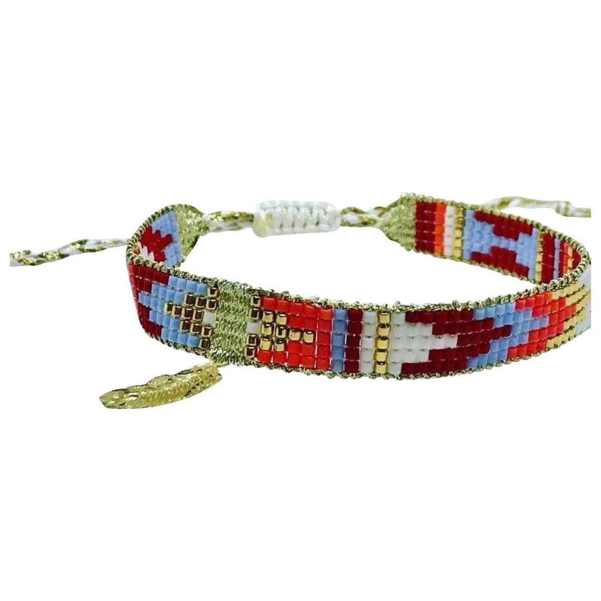 Non Signé / Unsigned Motifs Ethniques Multicolour Pearl bracelet for Women \N