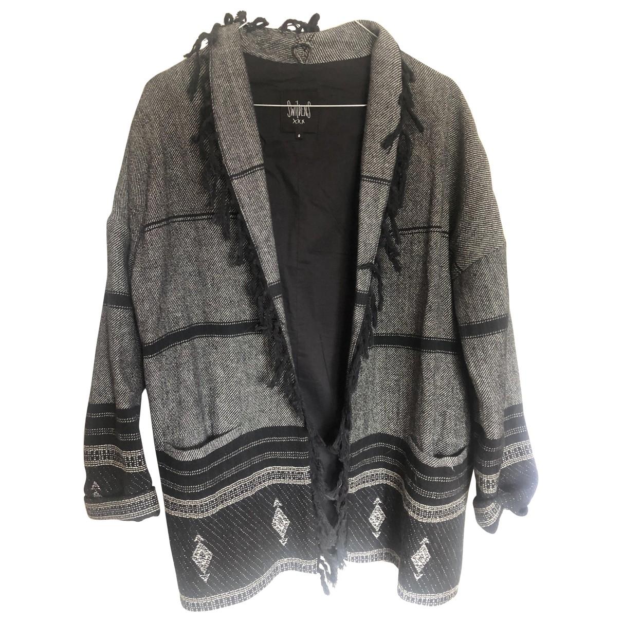Swildens \N Jacke in  Grau Baumwolle