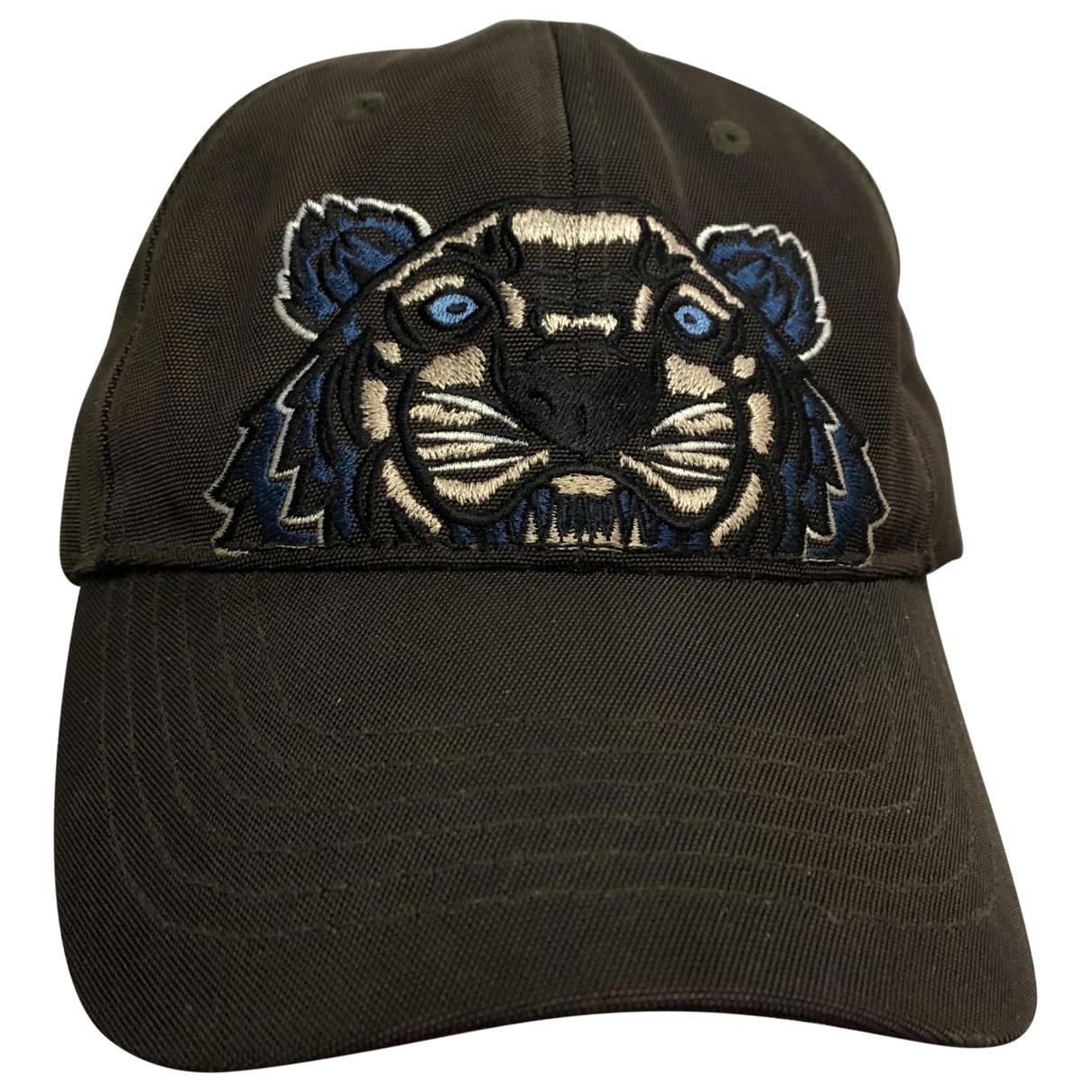 Kenzo \N Khaki Cotton hat & pull on hat for Men M International