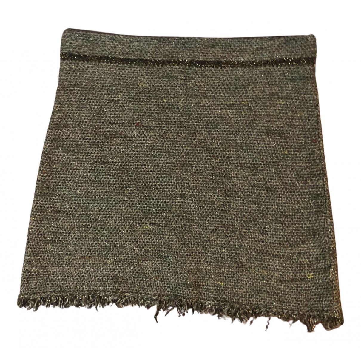 Isabel Marant N Grey Linen skirt for Women S International