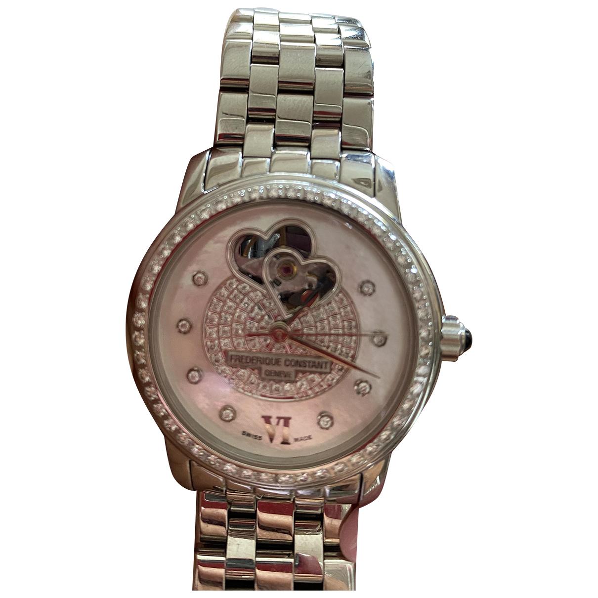 Frederique Constant \N Uhr in  Silber Stahl
