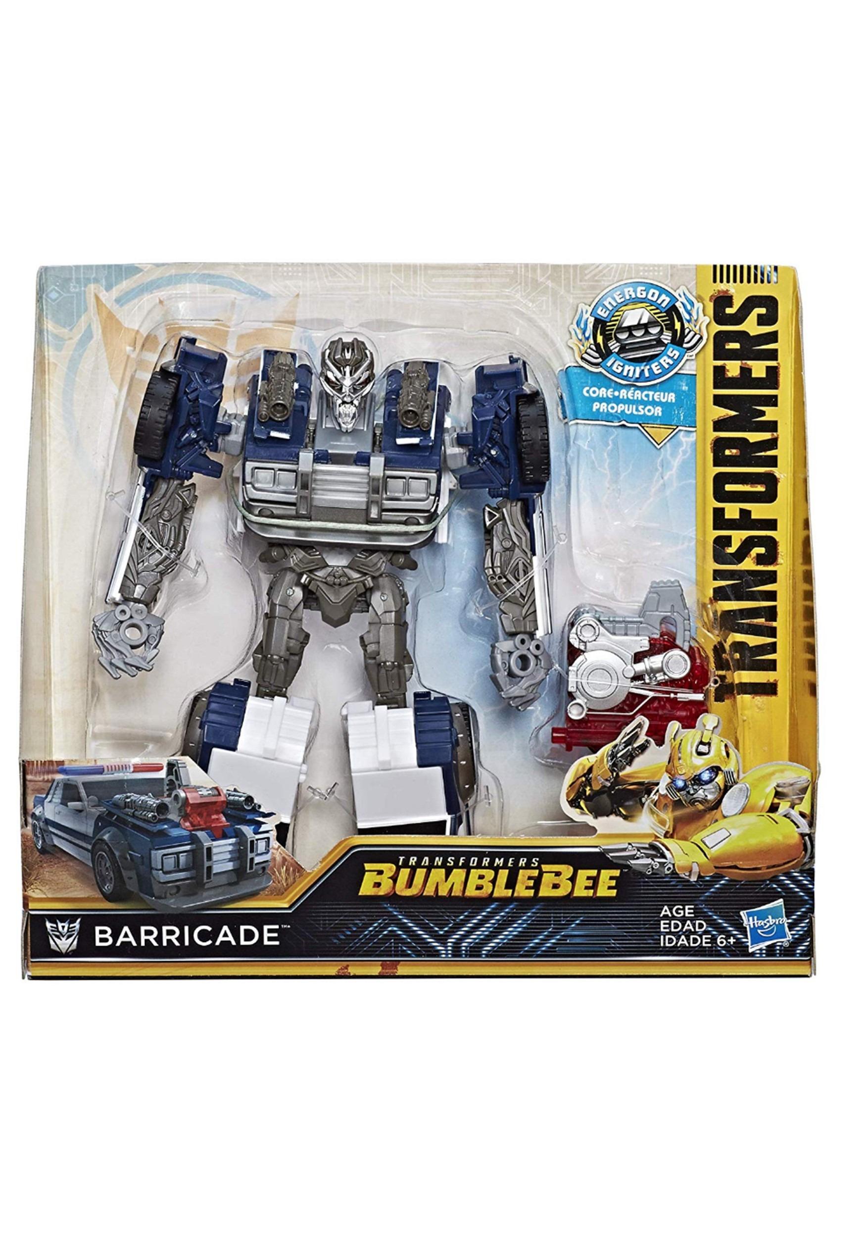 Transformers Bumblebee Energon Igniters Nitro Barricade Action Figure
