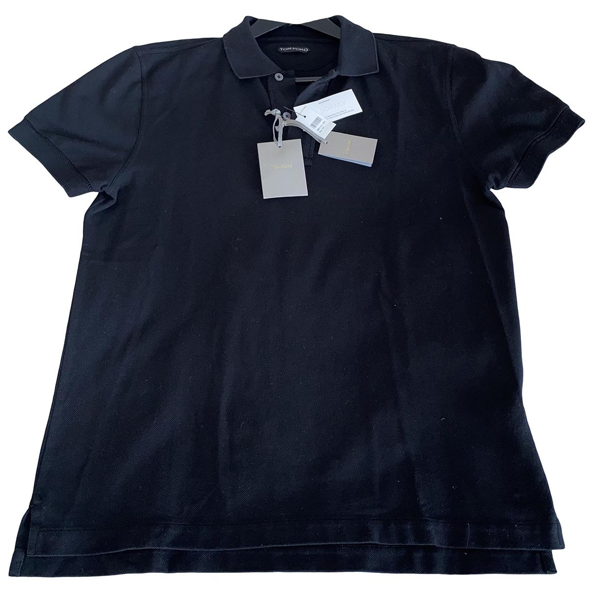 Tom Ford \N Poloshirts in  Schwarz Baumwolle