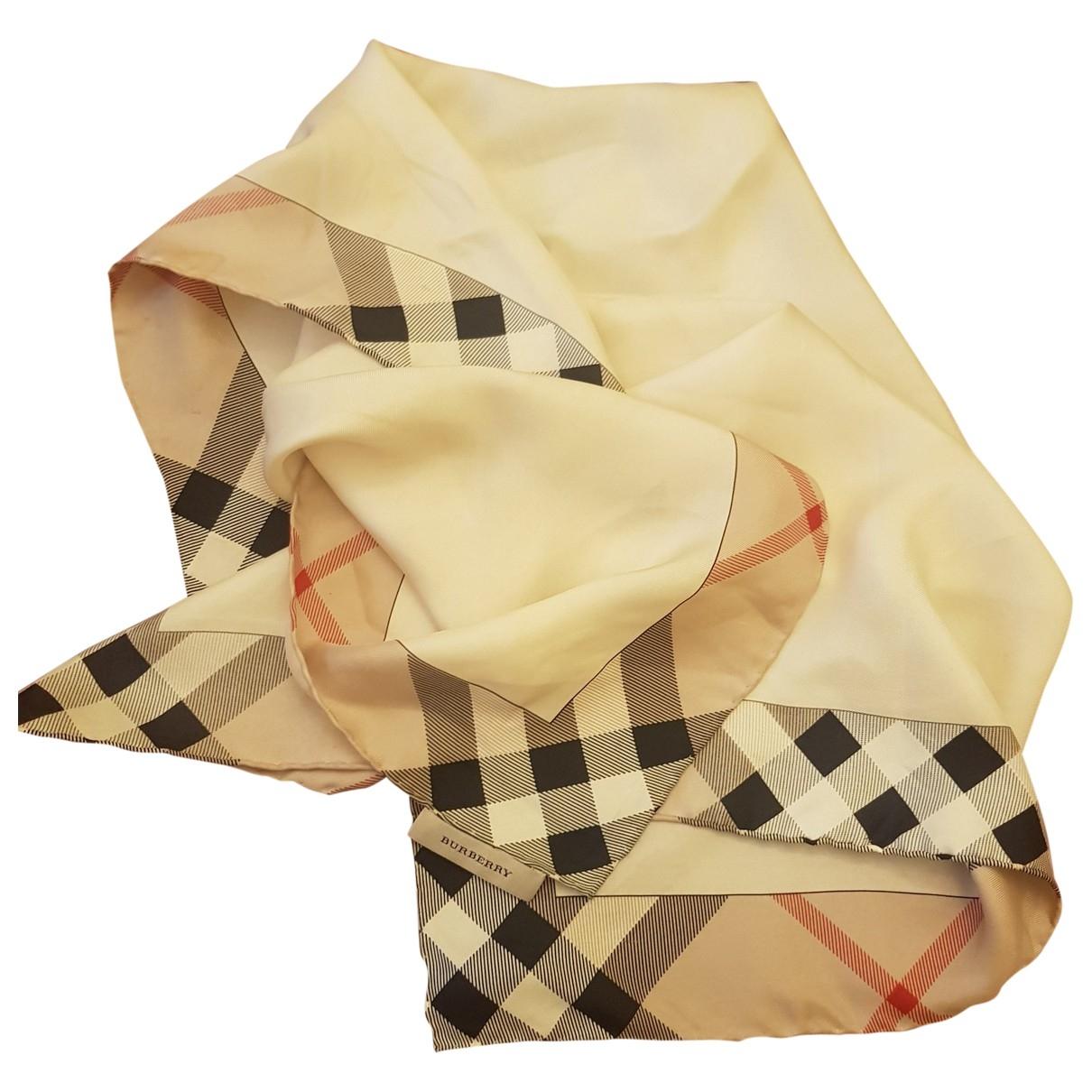 Burberry \N Silk scarf for Women \N