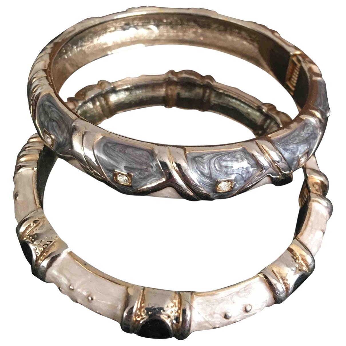 - Bracelet Art Deco pour femme en metal - multicolore