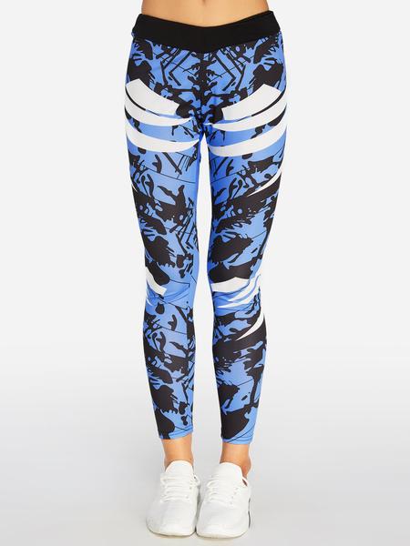 Yoins Fashion Random Floral Print Leggings