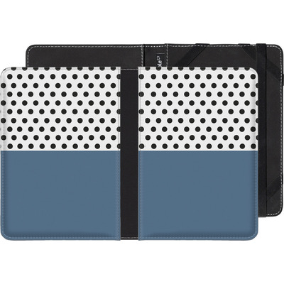 Kobo Aura Edition 2 eBook Reader Huelle - Blue Dots von caseable Designs