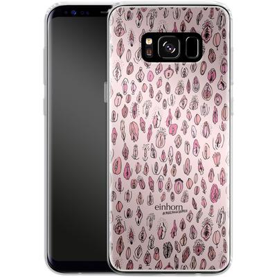 Samsung Galaxy S8 Silikon Handyhuelle - Muschis - by einhorn von Einhorn