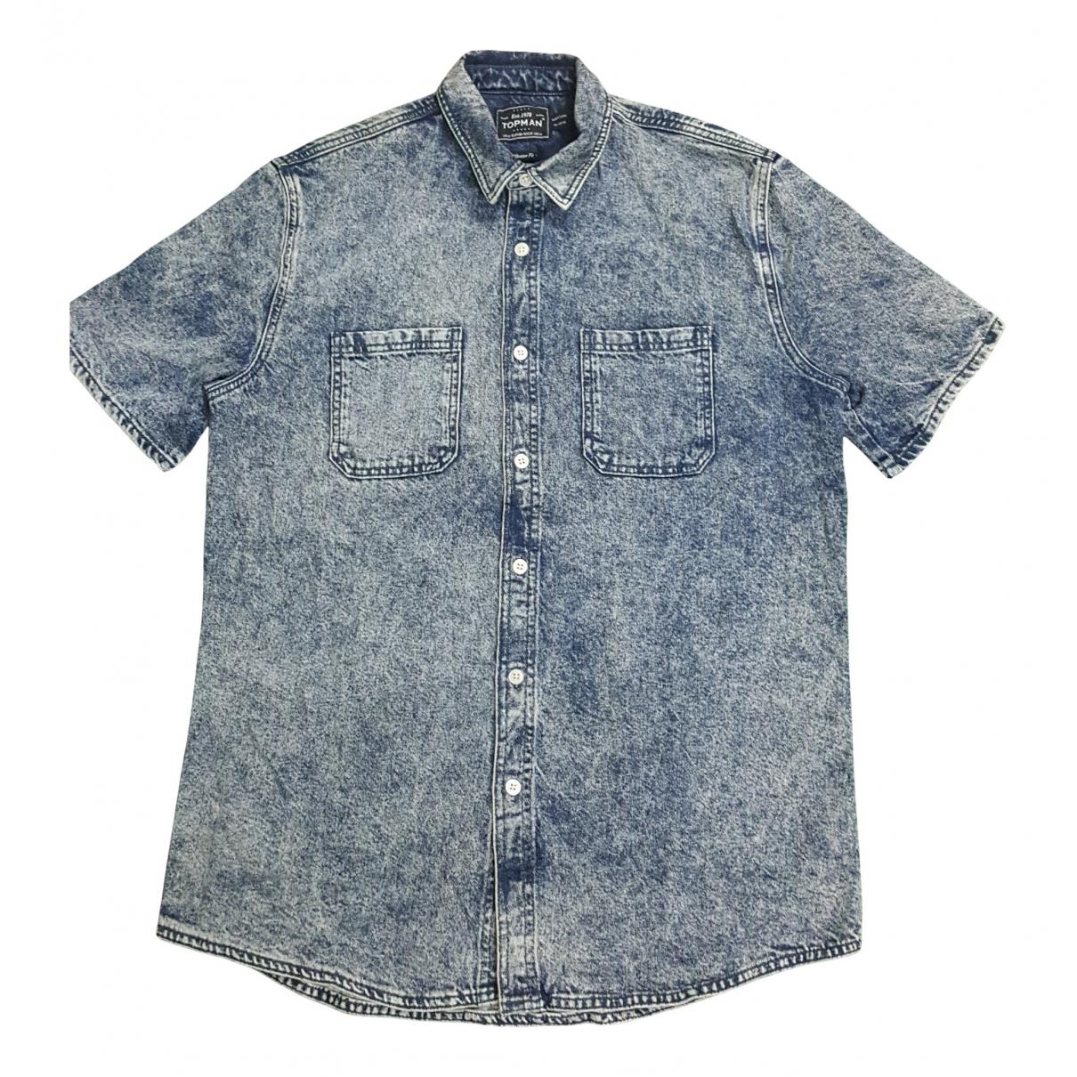 Topman - Chemises   pour homme en denim