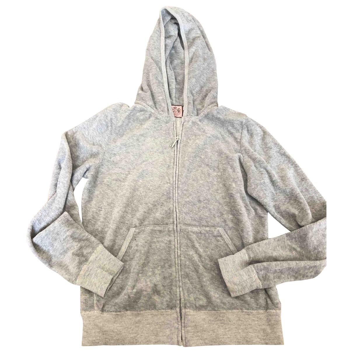 Juicy Couture \N Grey Cotton Knitwear for Women L International
