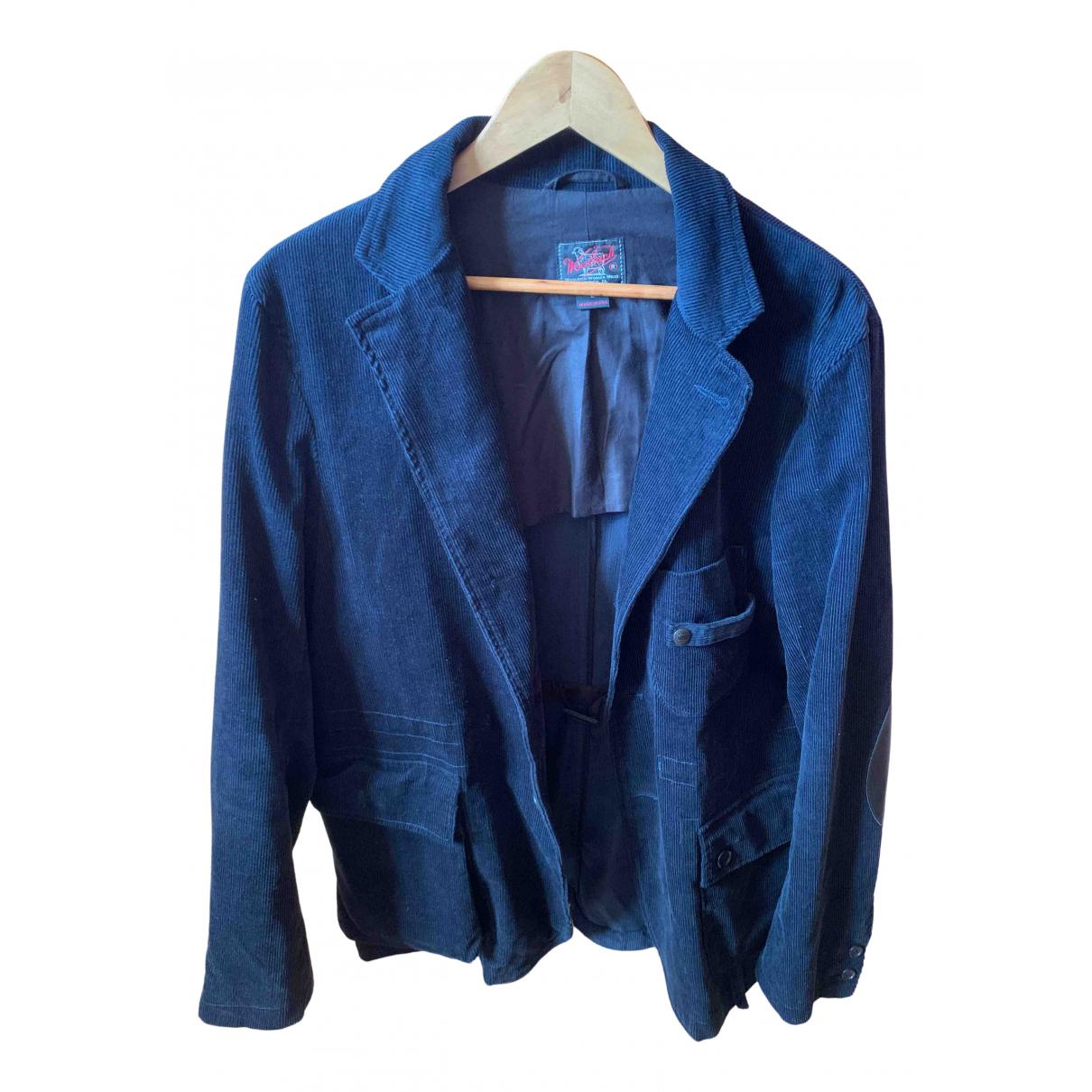Woolrich - Vestes.Blousons   pour homme en coton - bleu