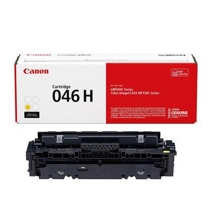 Canon 046H 1251C001 Original Yellow Toner Cartridge High Yield