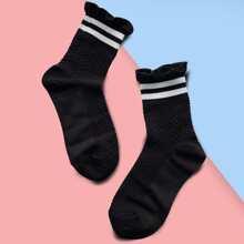 Ruffle Hem Socks