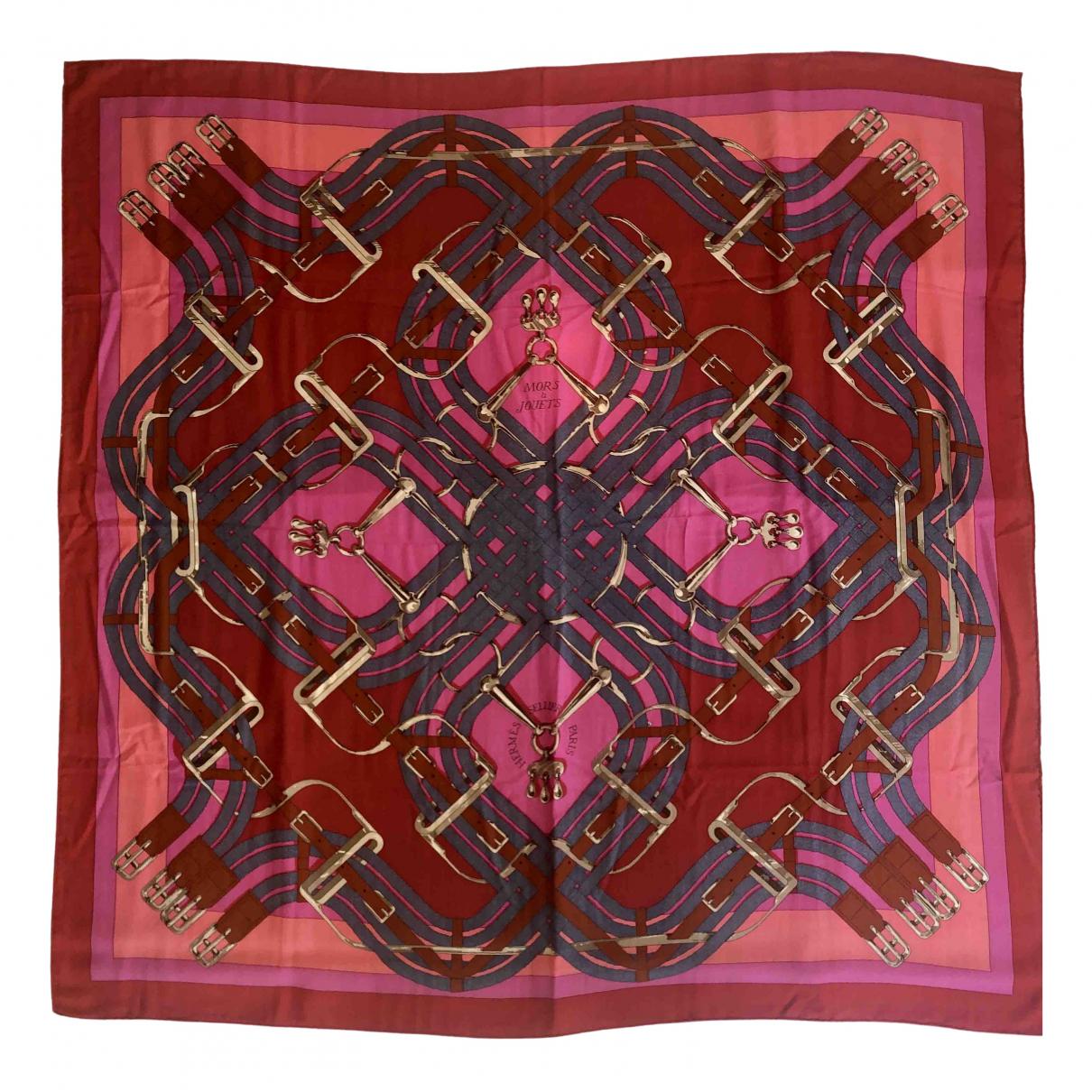 Hermes Chale 140 Schal in  Bunt Kaschmir