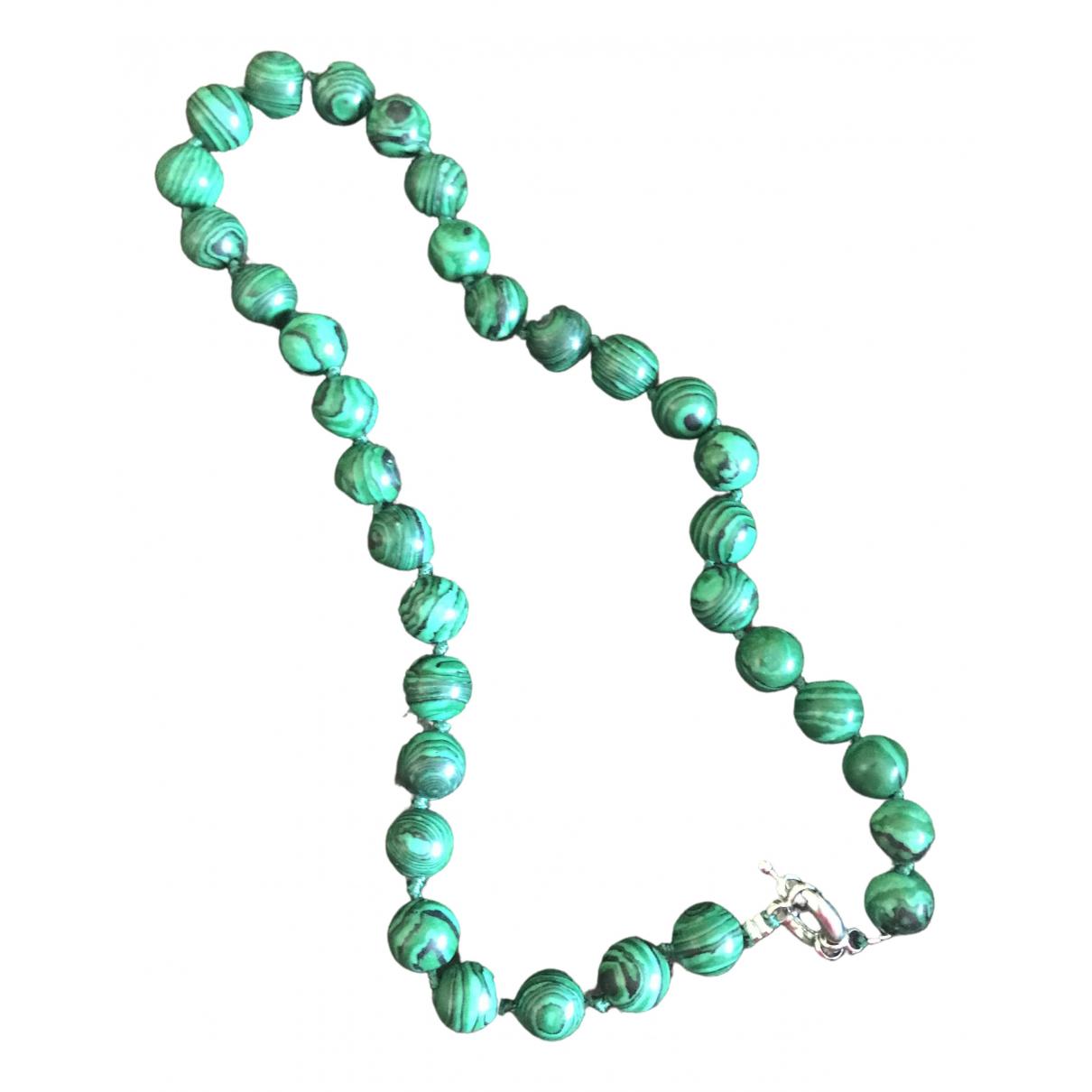 - Collier Motifs Ethniques pour femme en ceramique - vert