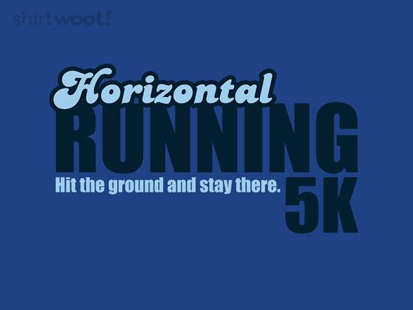 Horizontal Marathon T Shirt
