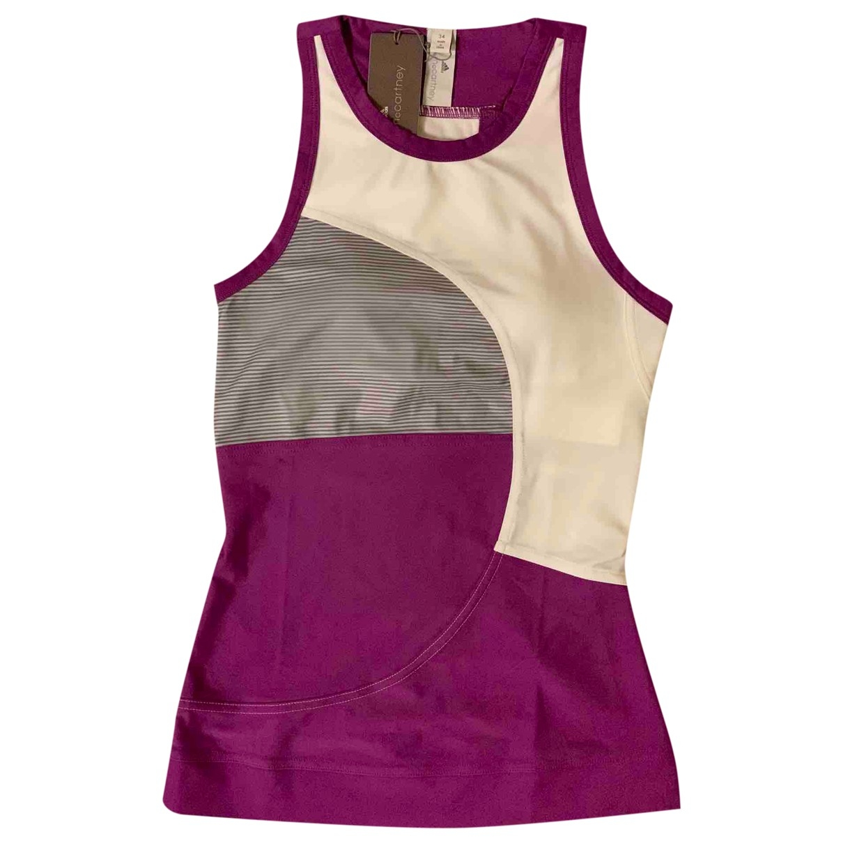 Stella Mccartney Pour Adidas \N Top in  Lila Polyester