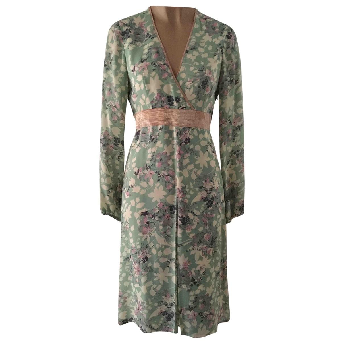 Paul & Joe - Robe   pour femme en soie - multicolore