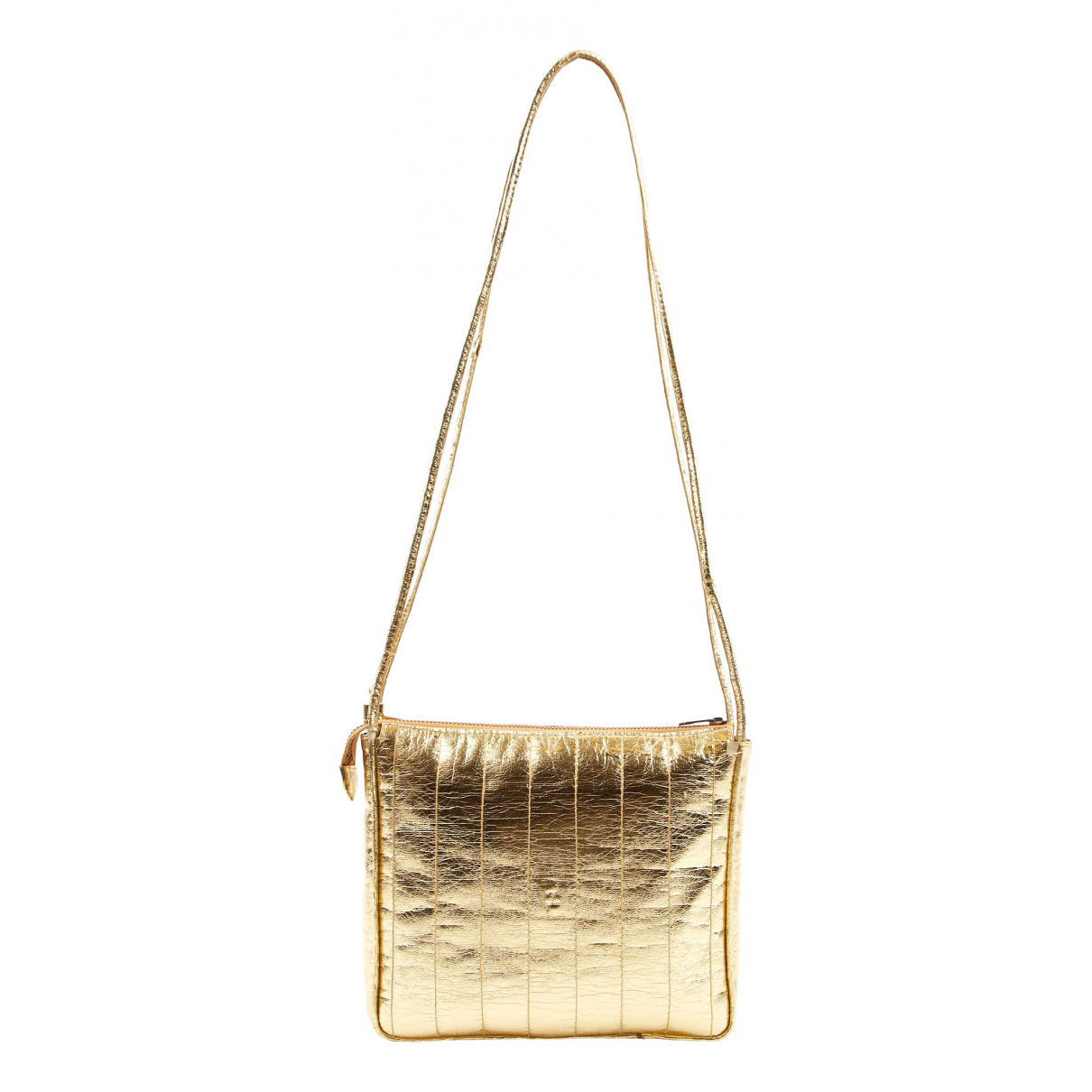 Fendi \N Gold Leather handbag for Women \N