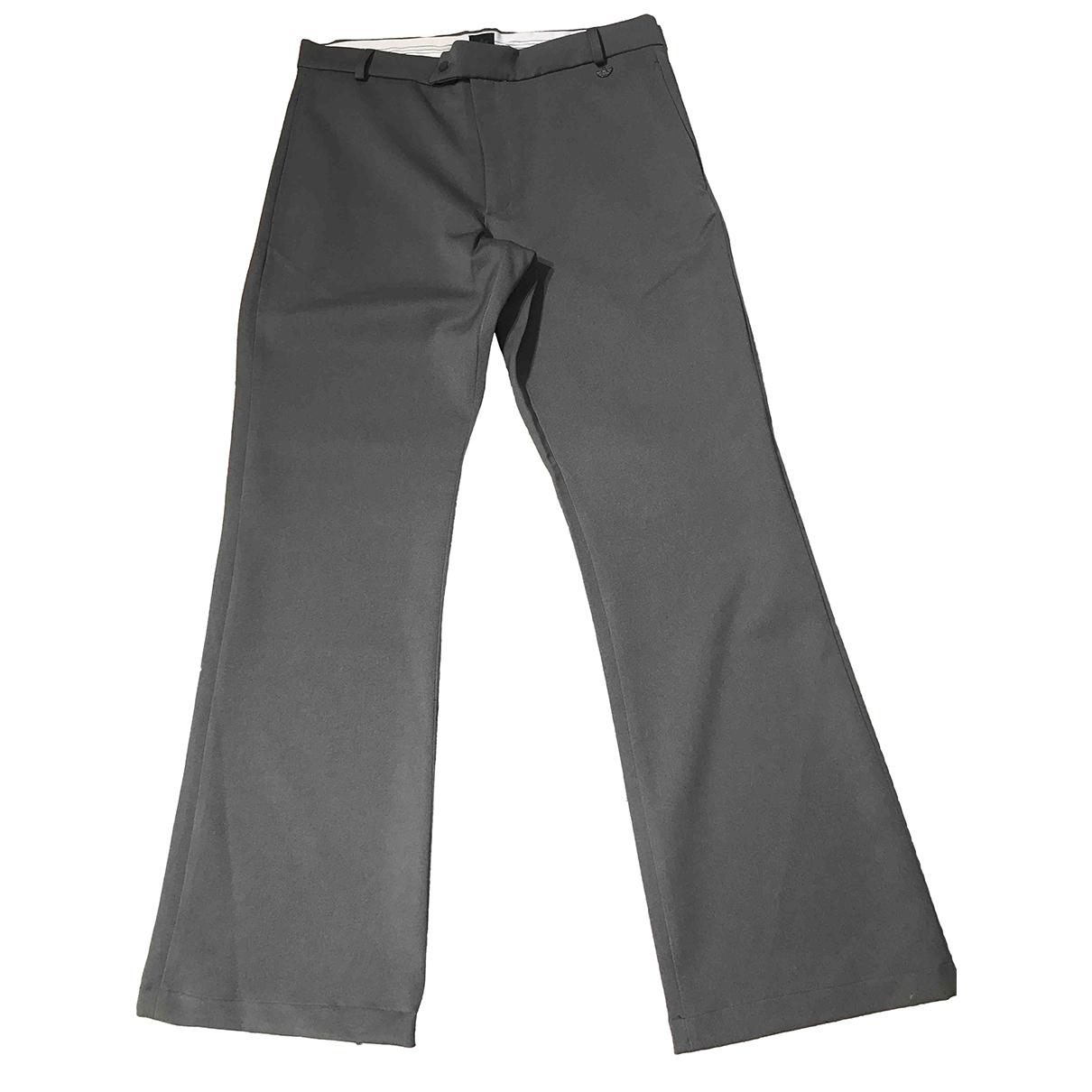 Pantalones en Poliester Gris Adidas