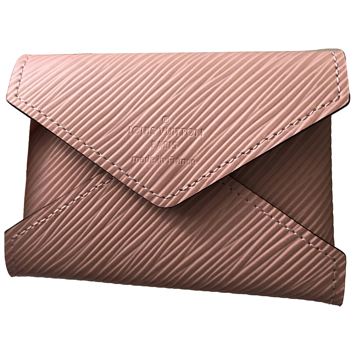 Louis Vuitton Kirigami Pink Leather Clutch bag for Women N