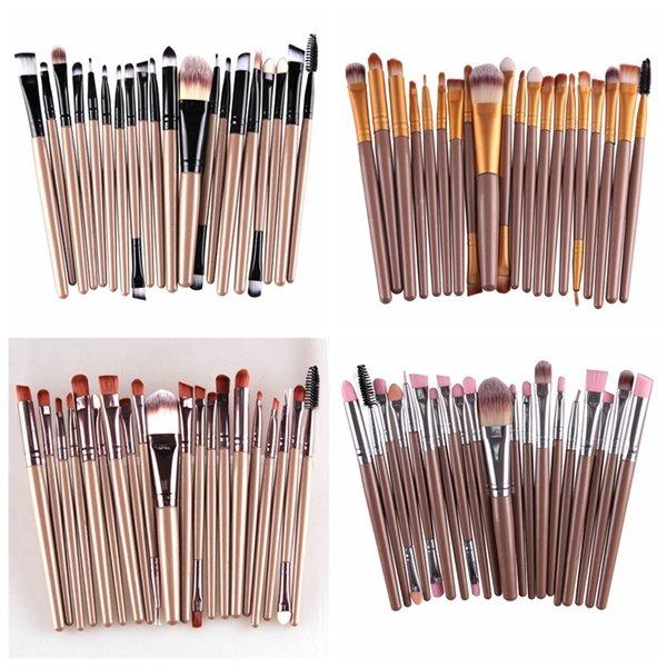 MAANGE 20 Pcs Professional Makeup Brush Set Cosmetic Synthetic Hair Brushes Kit