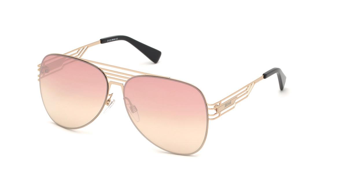 Just Cavalli JC 914S 32F Men's Sunglasses Gold Size 61