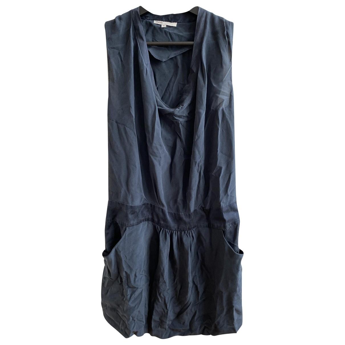 Mini vestido de Seda Maje