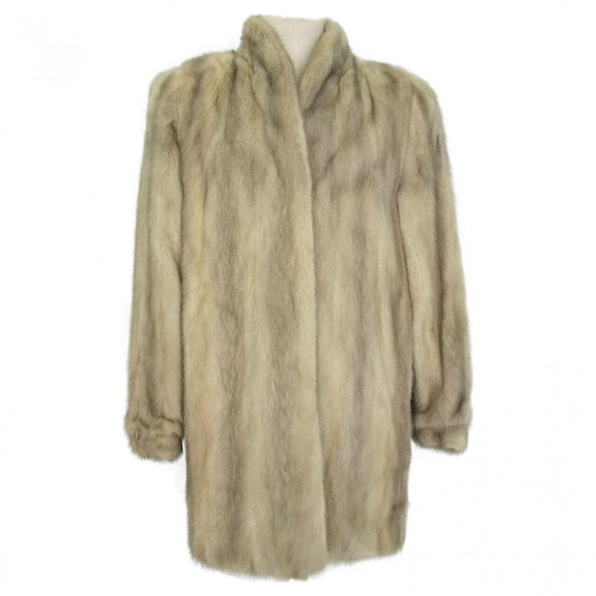 Non Signé / Unsigned \N Grey Mink jacket for Women L International