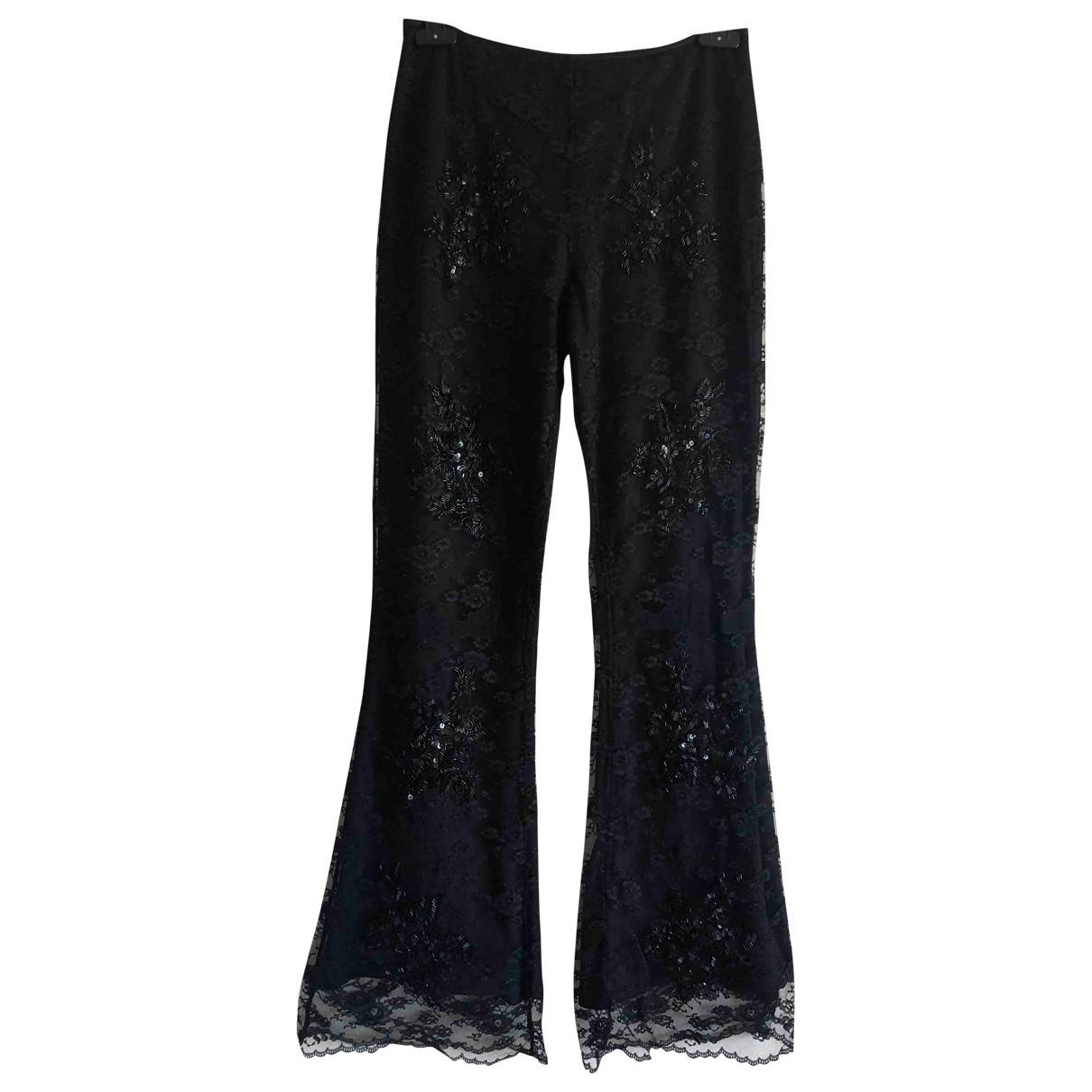 Karen Millen \N Black Trousers for Women 10 UK
