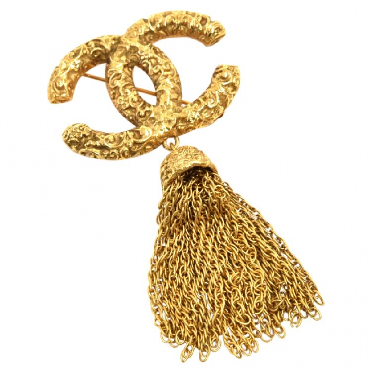 Chanel CC Gold Metal pendant for Women \N
