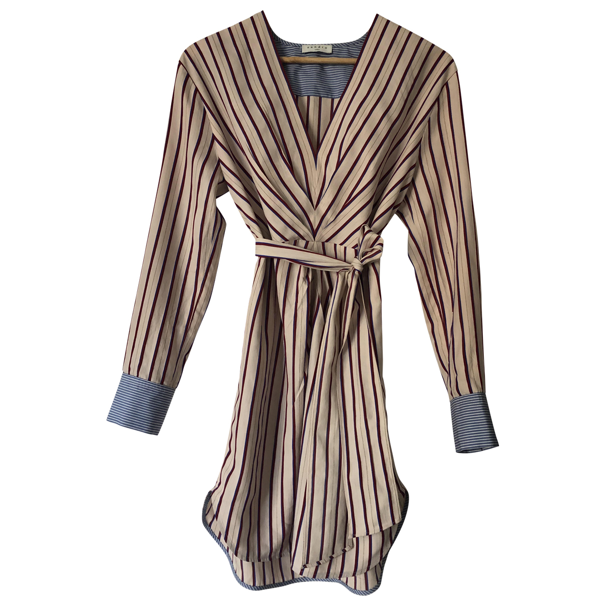 Sandro \N Pink Cotton dress for Women 36 FR