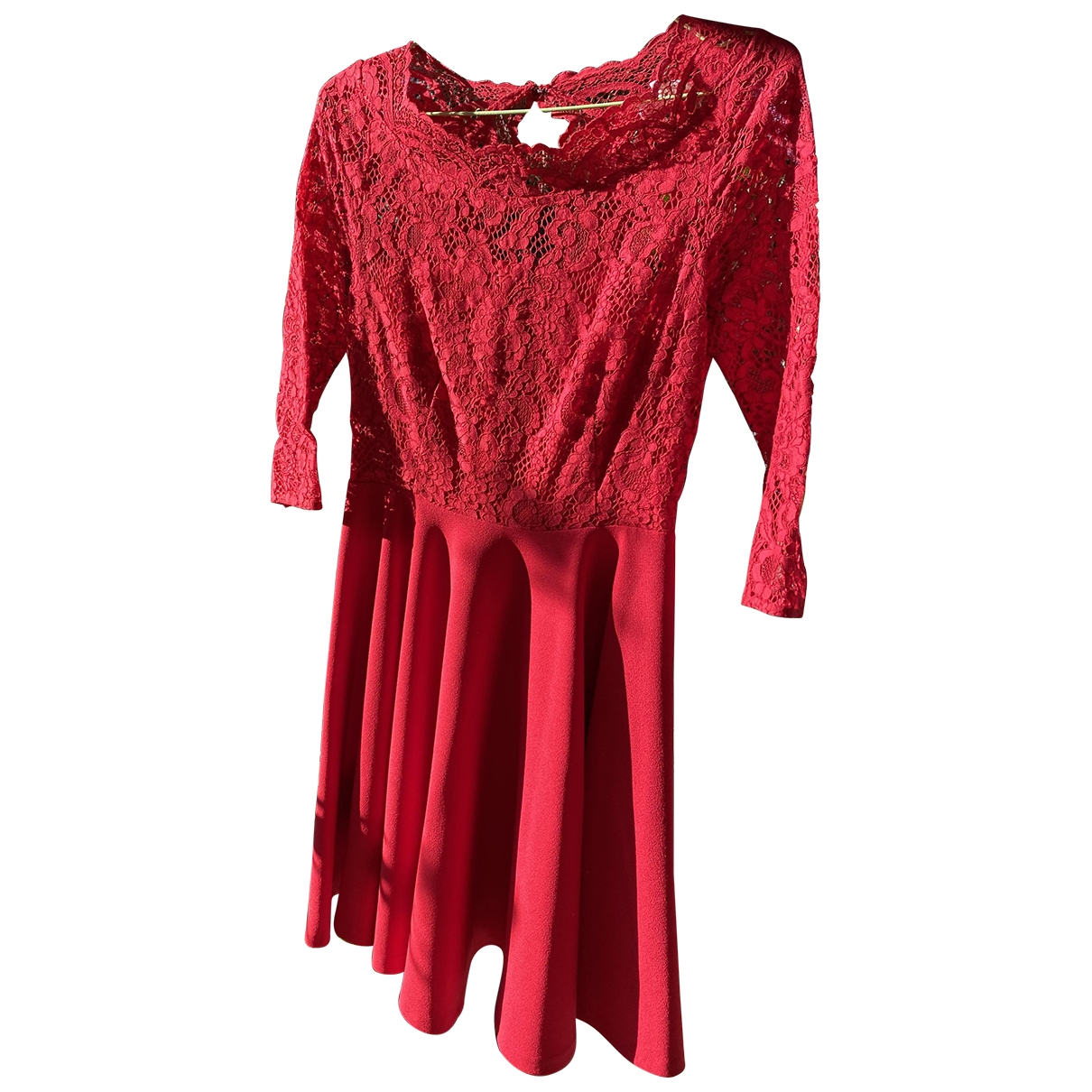 Claudie Pierlot \N Kleid in  Rot Polyester