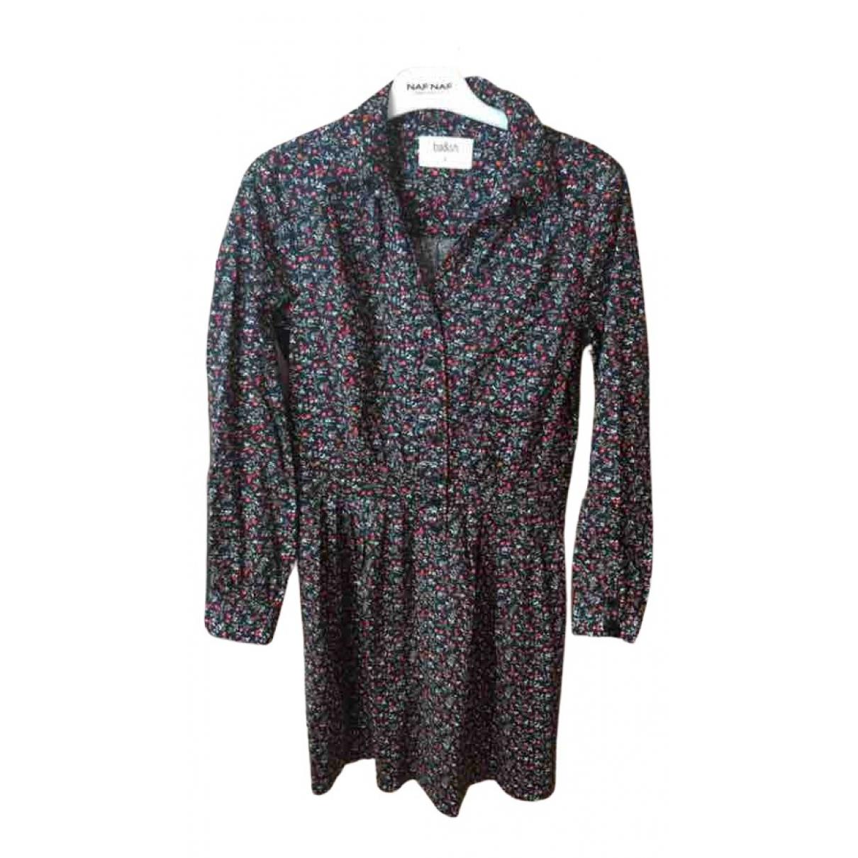 Ba&sh \N Kleid in  Schwarz Baumwolle