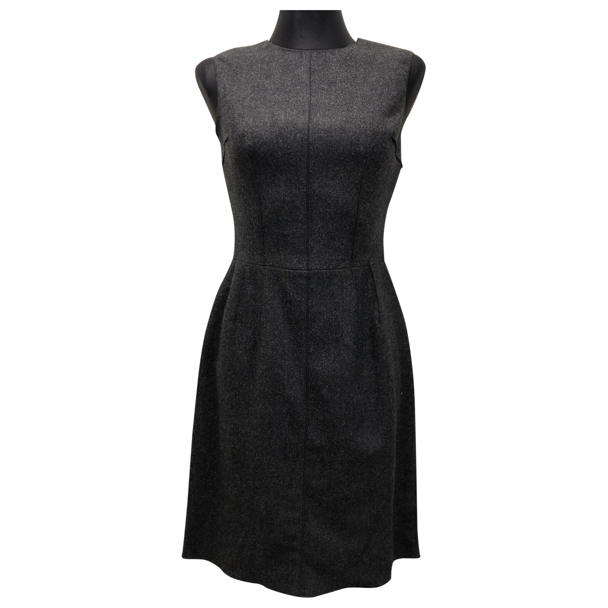 Dolce & Gabbana \N Kleid in  Anthrazit Wolle