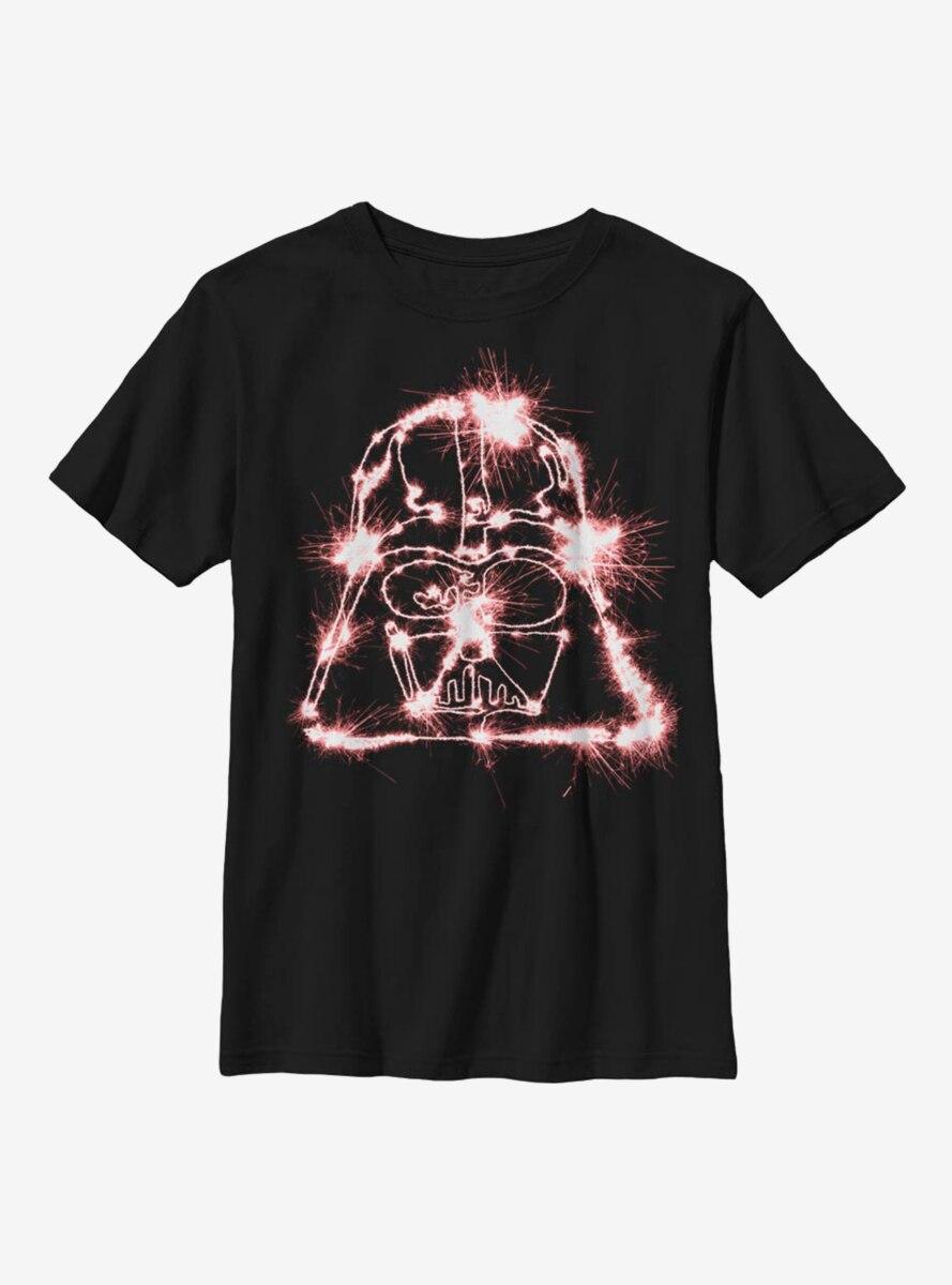Star Wars Sparkler Vader Youth T-Shirt