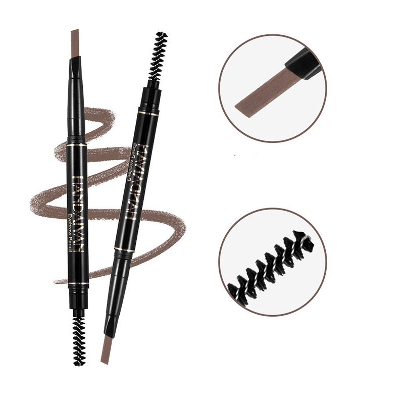 Automatic Eyebrow Pencil Long-Lasting Eyebrow Pen Waterproof Full Color Eyebrow Eye Cosmetic