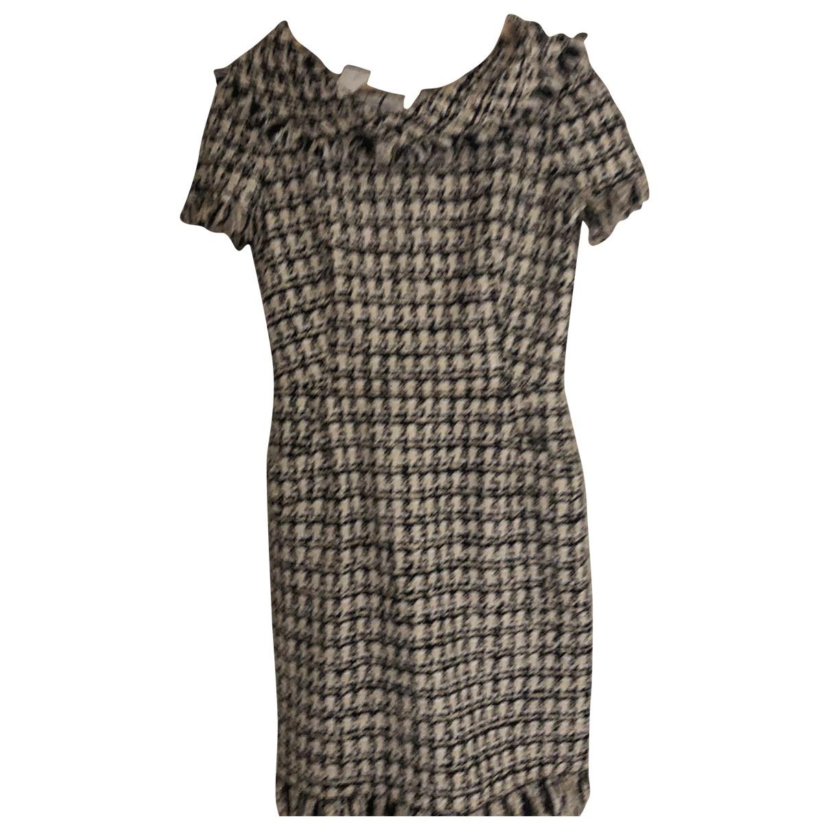 Oscar De La Renta \N Kleid in  Schwarz Wolle