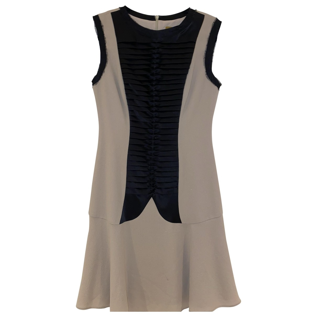 Hanley - Robe   pour femme en soie - beige