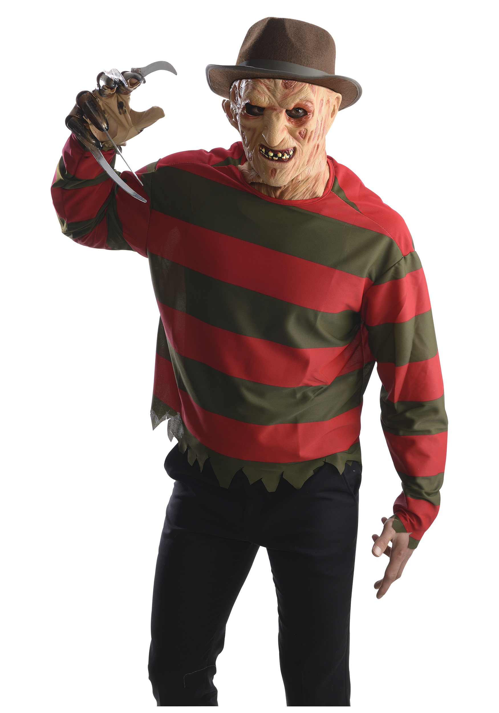 Adult Freddy Krueger Costume w/ Mask