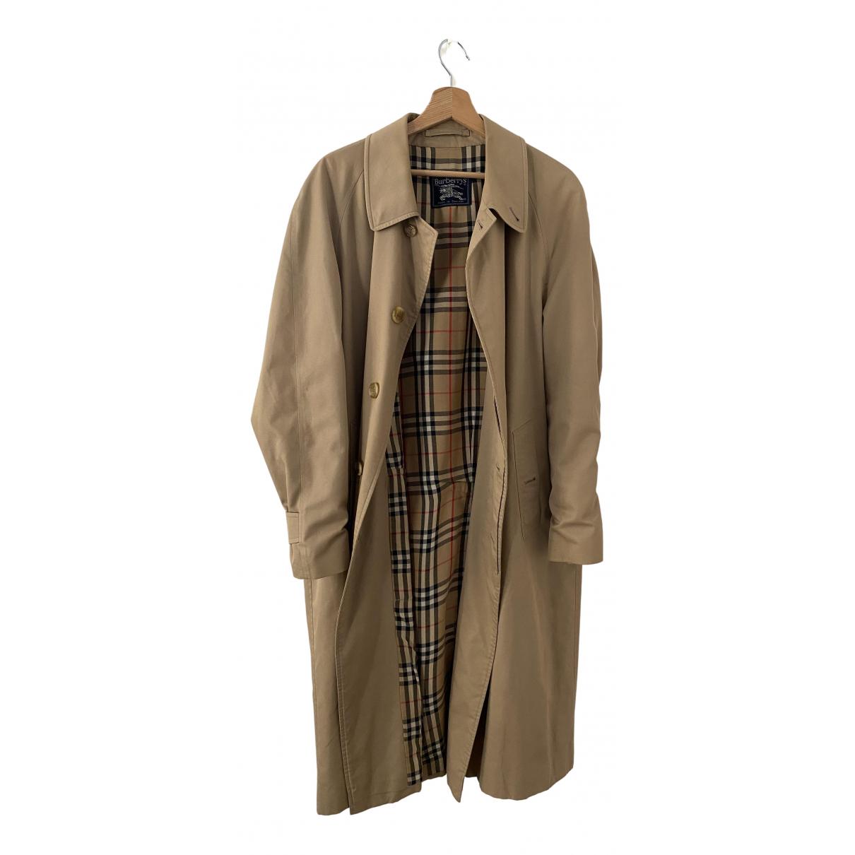 Burberry N Beige Cotton coat  for Men 52