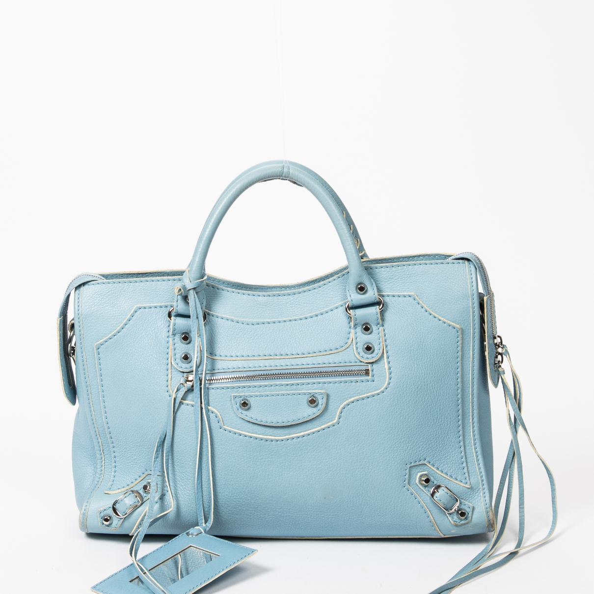 Balenciaga City Leather handbag for Women \N