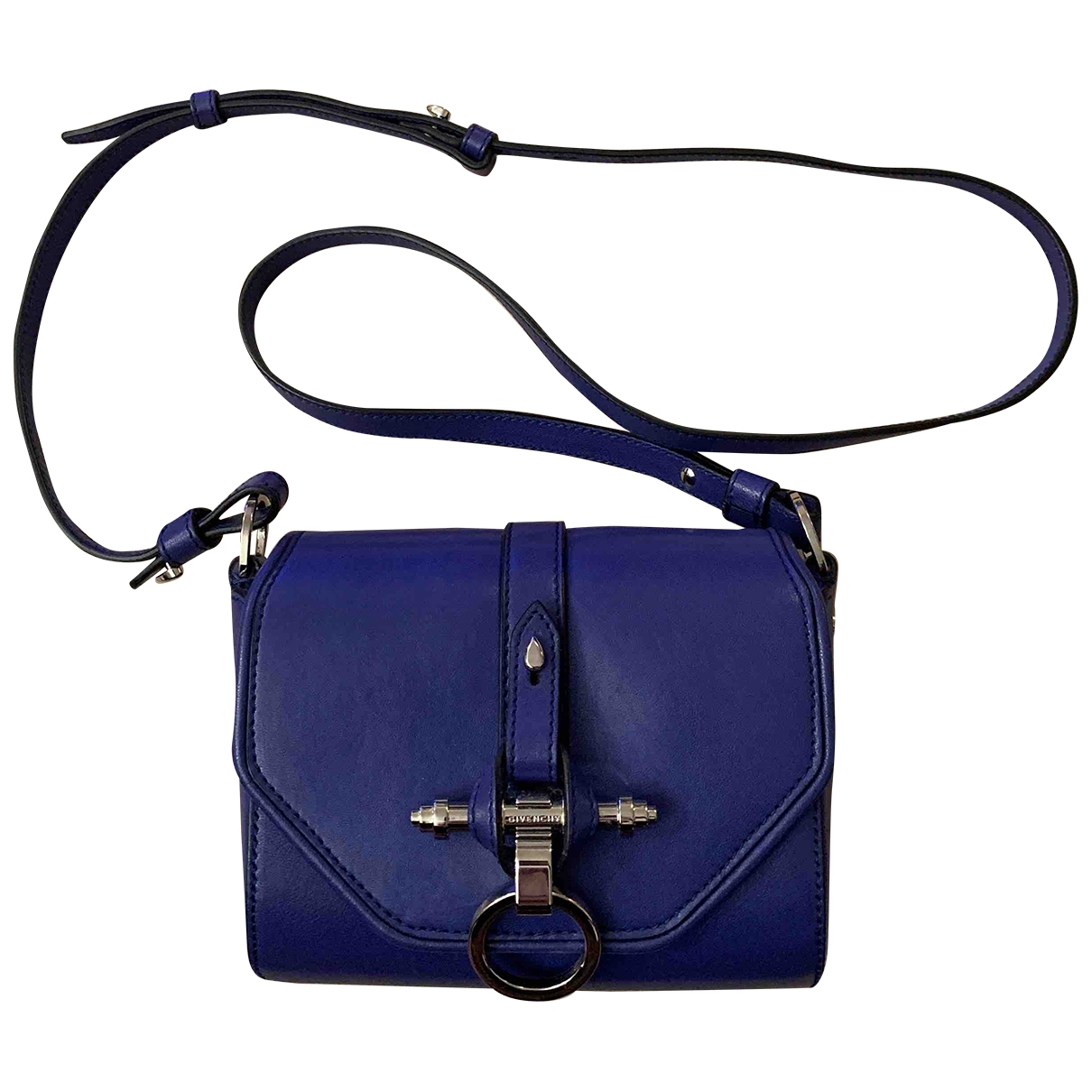 Givenchy Obsedia Blue Leather handbag for Women \N