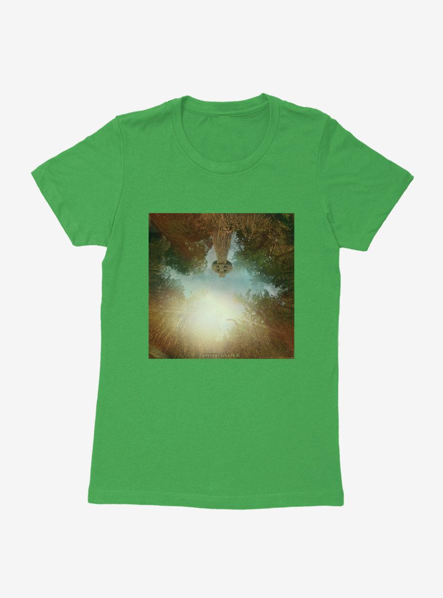 Outlander Woods Teaser Womens T-Shirt