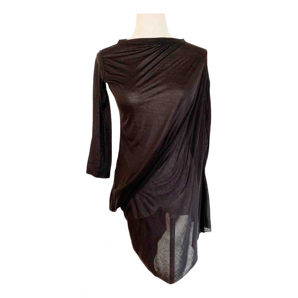 Rick Owens Lilies - Top   pour femme en soie - noir